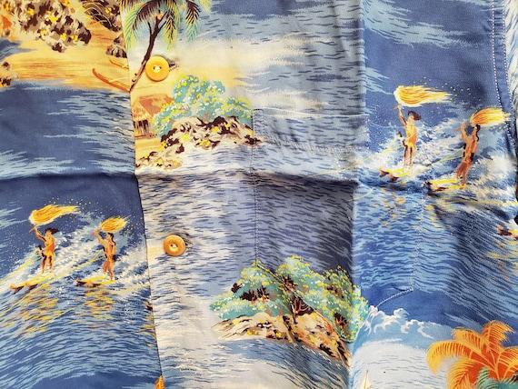 1950s Polynesian SportSwear Hawaiian Shirt - image 5