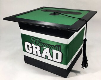 Graduation Cap Card Box Etsy