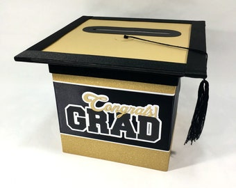 Graduation Card Box Etsy
