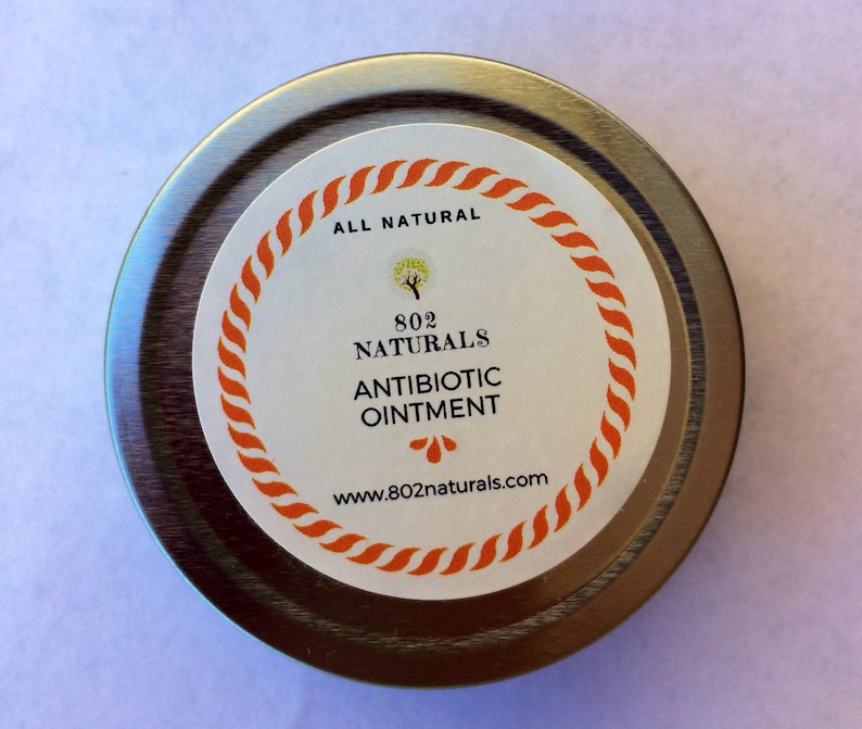 Antibiotic Ointment | Herbal Salve | Burn and Cut Relief Balm | Herbal  Remedy