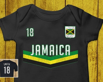 Mens Ringer T-Shirt JAMAICA RETRO STRIP Womens World Cup 2019 Football Olympics