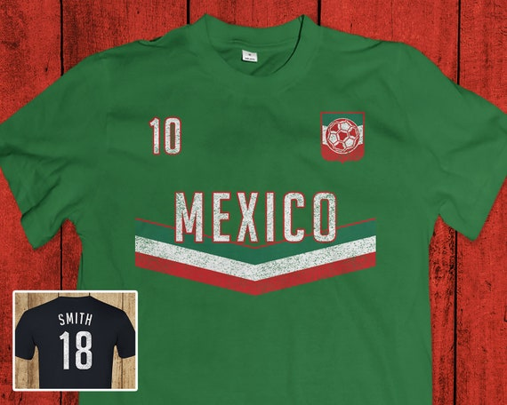 competitive price 83103 234f7 Mexico Soccer T-Shirt - Mexican World Cup Jersey
