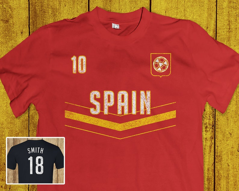 size 40 2a16c 7b3b1 Spanish World Cup Soccer T-Shirt - Real Madrid Tee