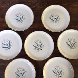 Set of FOUR IMPERIAL 7 58 inches Very Good Condition 4 1960/'s Vintage Coupe Soup Bowls Style House China