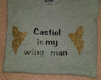 Supernatural shirt, supernatural tee shirt, castiel shirt, Easter teen gift, men's shirt, women's shirt