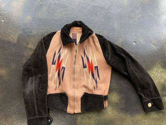 La Azteca Sport Jacket Native American 1930s Chima
