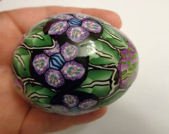 For sale Easter Egg Handmade from polymer clay