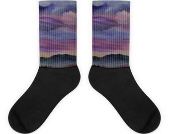 Desert Landscape Socks