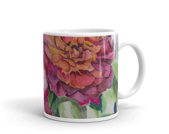 Two Flowers Mug