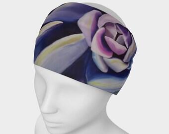 HEADBAND- Succulent, Watercolor Painting on Headband