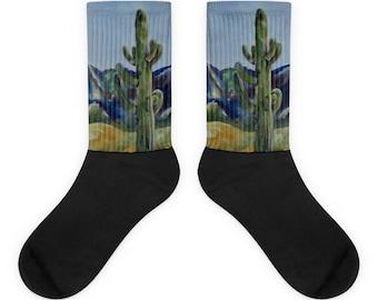 Desert Cactus Socks