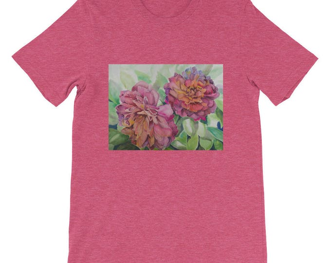 Two Flowers Short-Sleeve Unisex T-Shirt