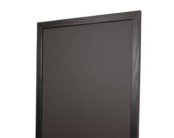 Black Wood Frame Chalkboard Vertical