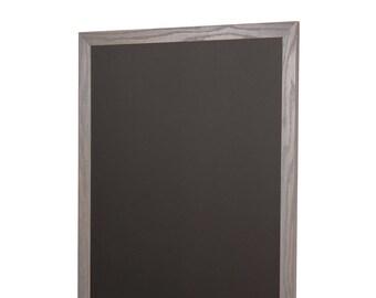 Gray Wood Frame Chalkboard Vertical