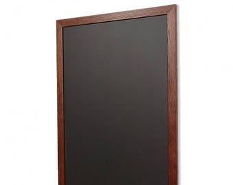 Walnut Oak Portrait Chalkboard