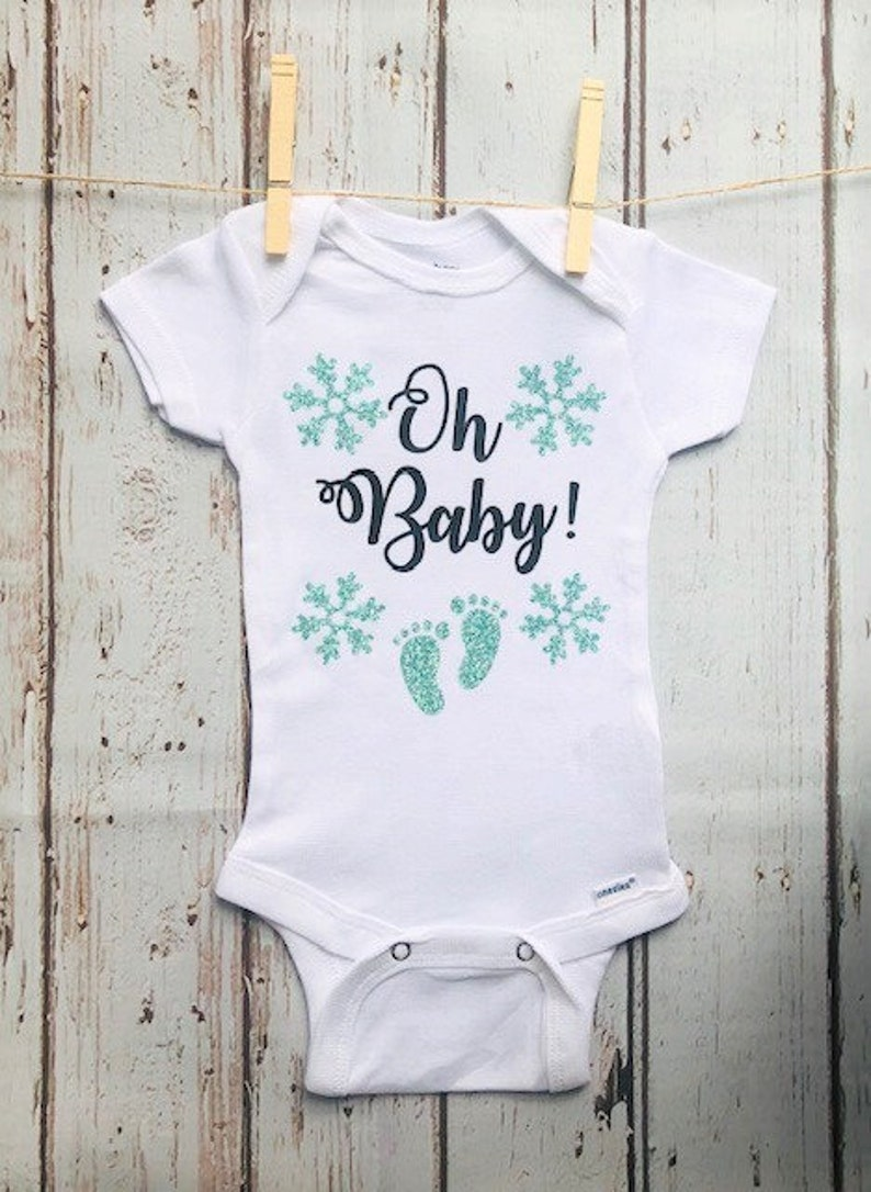 e71572321 Oh Baby Pregnancy Announcement or Baby Onesie | Etsy