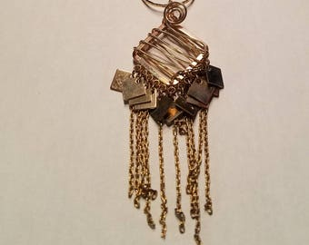 Dangley Gold Recycled Pendant