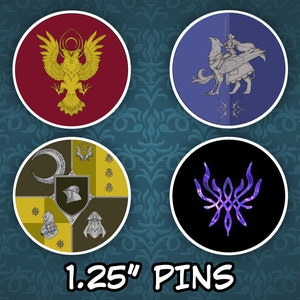 Three Houses Pride Pin-Back Buttons 1/'/' Fire Emblem