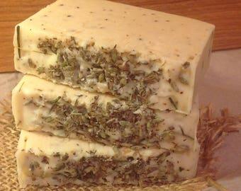 Soy Milk & Lavander Soap
