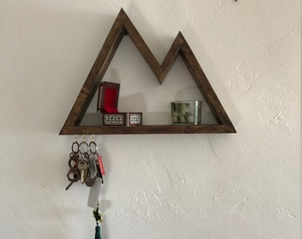 Mountain Shelf Key Holder- Rustic Mountain Key Holder for house keys 1e9691ab3c