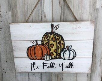 Harvest Themed Sign And Decor Seasonal Sign For Front Door Craft Supplies, Autumn Harvest Wreath Sign Pumpkin Sign Wreath Supplies