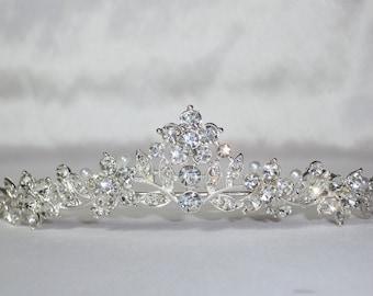 Engagement Princess Party Vintage Accessories 18th Birthday Bridesmaid Wedding Prom Elegant Vintage Tiara Quinseanera Bridal