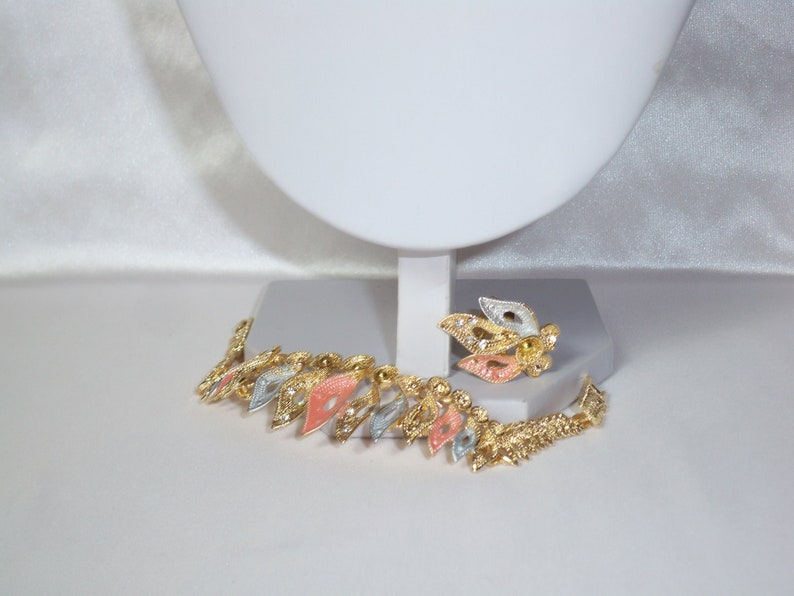 party prom pageant Quenceanera necklace statement necklace statement drag queen necklace Tri color gold bridal wedding MOB necklace