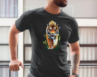 a16af96d21440 Bengal tiger t shirt | Etsy