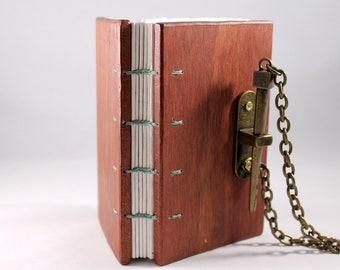 Coptic Stitch Bloodwood Book