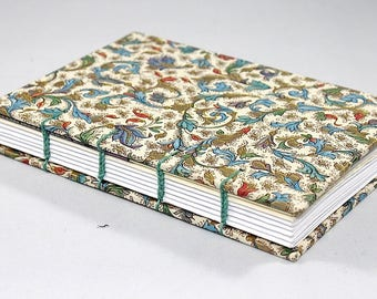 Paisley Coptic Stitch Journal