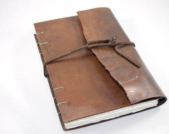 Dark Leather Journal
