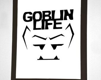 Goblin Life Wall Art
