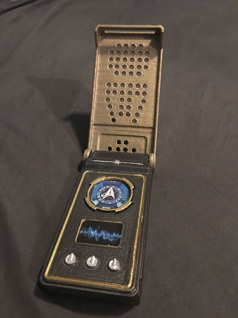 Star Trek Discovery Communicator