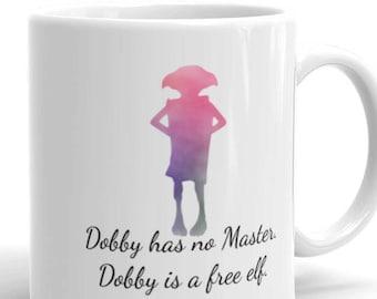Dobby Has No Master. Dobby Is A Free Elf - Fandom Mug for the bookstagram community