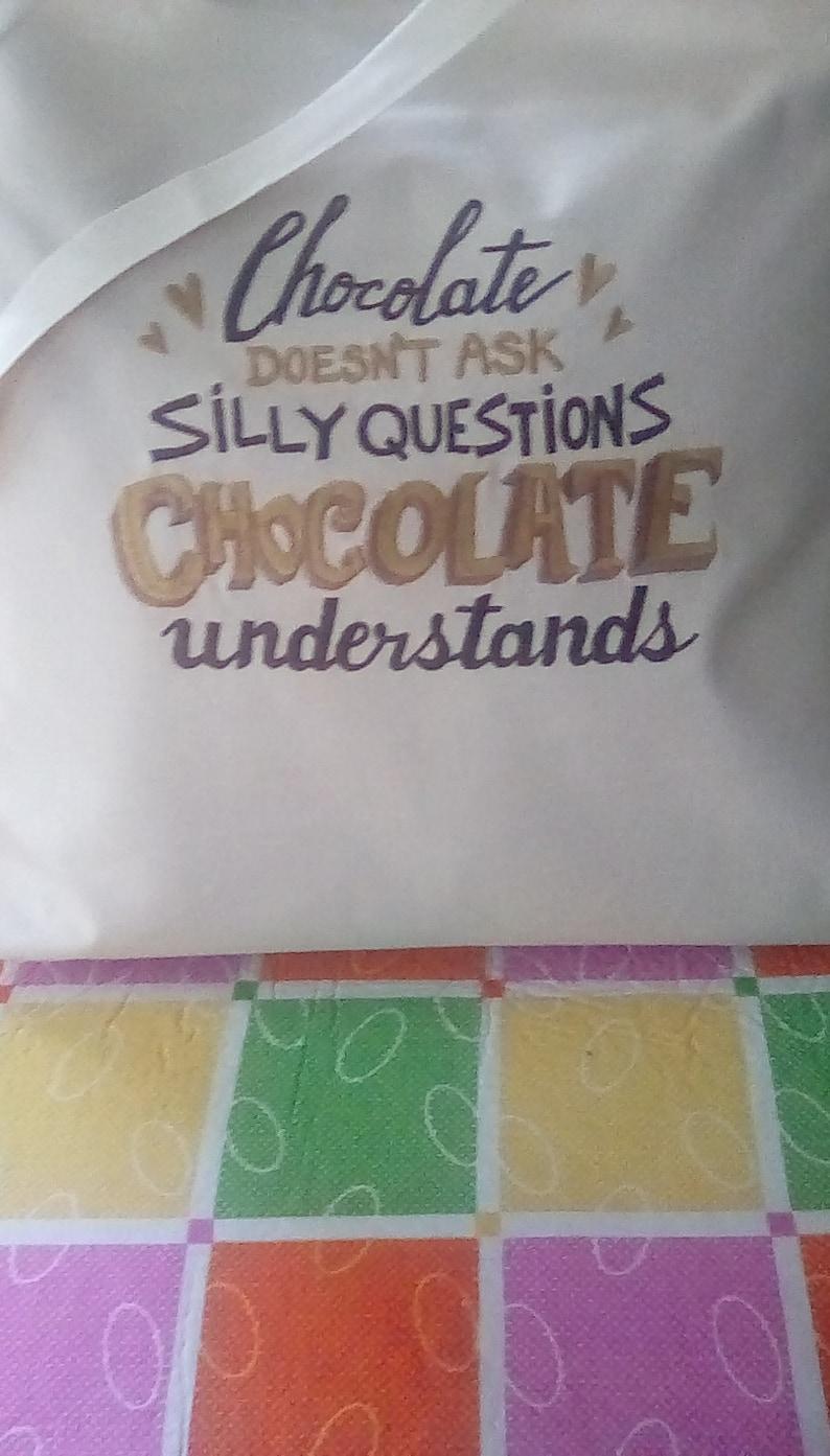Chocolate Understands Tote