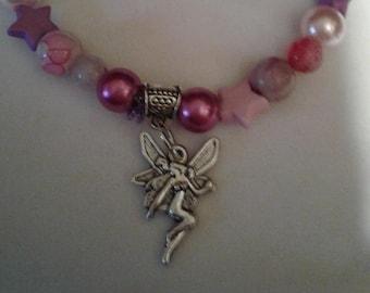 Fairy & Stars Stretch Bracelet
