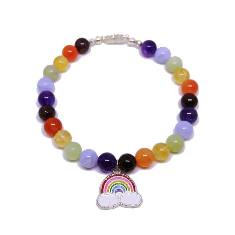 a basso prezzo e1c37 020aa Bracciale arcobaleno