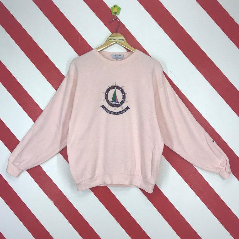 9cc1ebb1e Vintage 90s Lanvin Paris Sweatshirt Lanvin Paris Sweater
