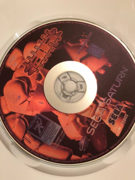 Burning Rangers Reproduction pour la Sega Saturn