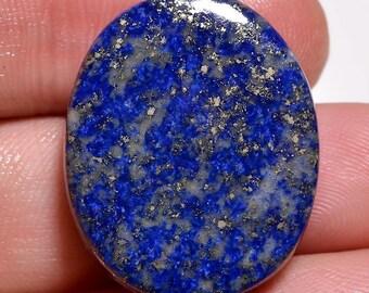Natural AAA Lapis Lazuli gemstone, Lapis Lazuli Jewelry, Lapis Lazuli cabochon, Loose Lapis Lazuli, Gemstones 31.85 Cts 25x20x6 MM TZ 902