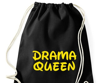 Drama queen-Gym bag Princess Zig Jungesellinen Hippster Bag backpack
