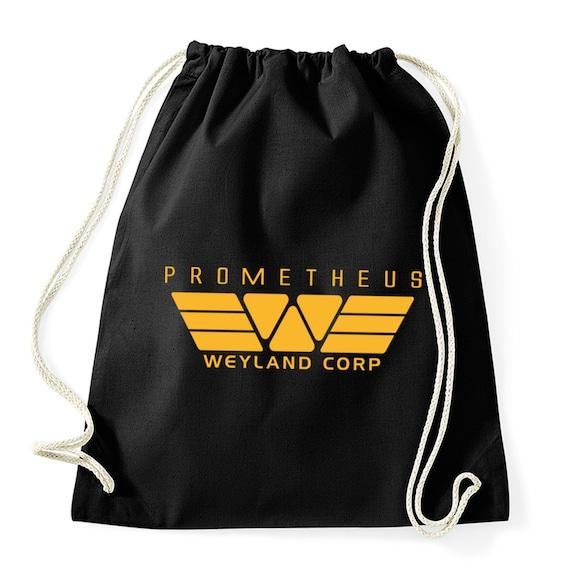Prometheus Weyland Corp-Gym bag fabric bag hipster alien USCSS | Etsy