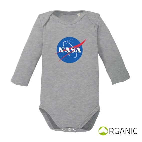 b71bce21b8b1 NASA-long sleeve baby body organic cotton-Birth gift romper