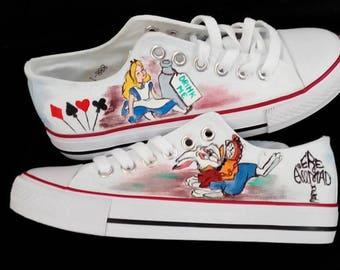 53256b5f462201 Handpainted sneakers