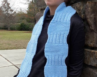 Hand Knit Fashion/Cold Weather Scarf