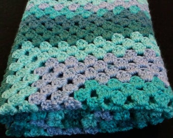 3d Illusion Blanket Crochet Pattern Stacked Cubes Optical