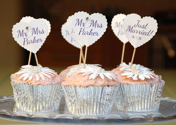 PERSONALISED CHRISTENING FLAGS BOYS CAKE DECORATIONS 20 CUPCAKE CONFIRMATION