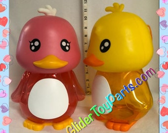 """7"""" Duck 'Jelly' Bank Toy Base for Sugar Gliders or Child's Toy"""