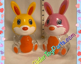 """8"""" Bunny 'Jelly' Bank Toy Base for Sugar Gliders or Child's Toy"""
