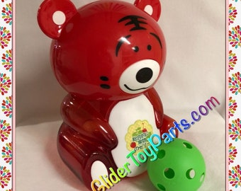 """12"""" Red Tiger 'Jelly' Bank Toy Base for Sugar Gliders or Child's Toy"""